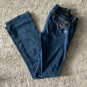 Miss Me Mid Rise Boot Cut Jeans